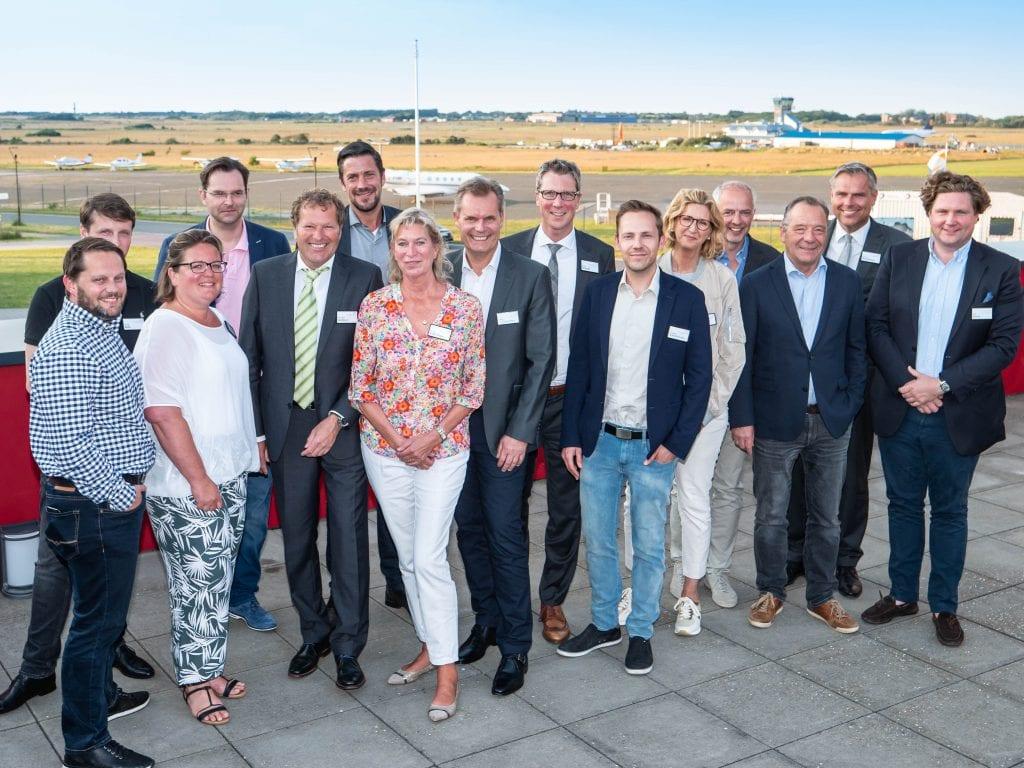 der neue Vorstand der Sylter Unternehmer (c) Sylt Connected